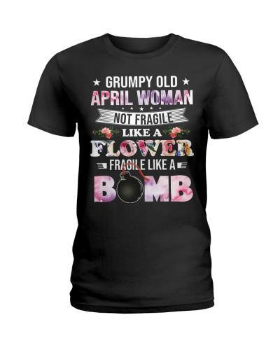 Grumpy Old April Woman