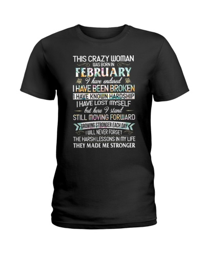 This Crazy Woman Was Born In February