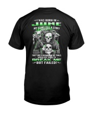 June Guy My Scars Tell A Story Classic T-Shirt back