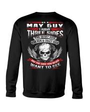 May Guy with Three Sides Crewneck Sweatshirt thumbnail