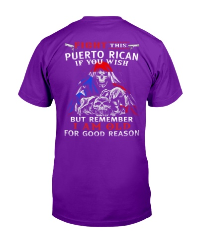FIGHT THIS PUERTO RICAN