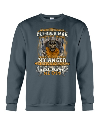 October Man Actually Don't Need To Control