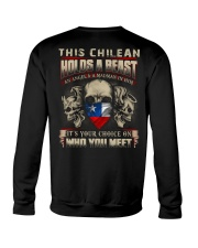 This chilean Holds A Beast  Crewneck Sweatshirt thumbnail
