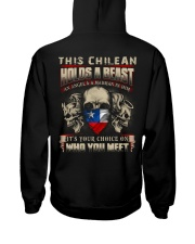 This chilean Holds A Beast  Hooded Sweatshirt thumbnail