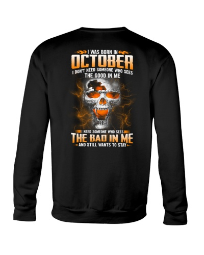 October Guy Need Someone Sees The Bad