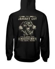 January Guy I'm A Good Guy Hooded Sweatshirt thumbnail