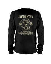 January Guy I'm A Good Guy Long Sleeve Tee thumbnail