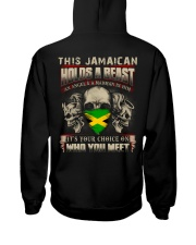 This Jamaican Holds A Beast  Hooded Sweatshirt thumbnail
