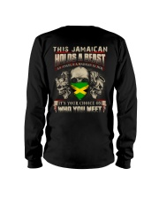 This Jamaican Holds A Beast  Long Sleeve Tee thumbnail