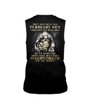 Don't Mess With This February Guy Sleeveless Tee thumbnail