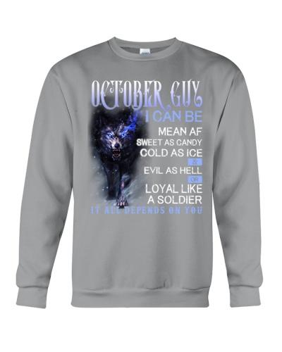 October Guy Can Be Mean AF