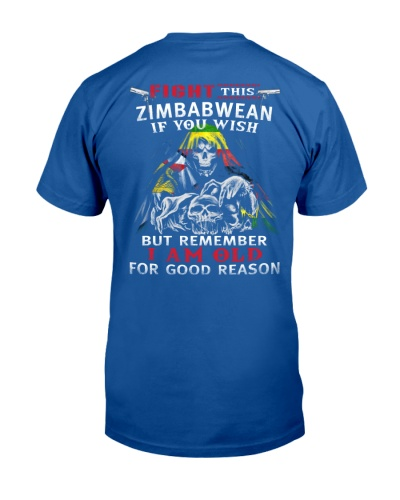 FIGHT THIS ZIMBABWEAN