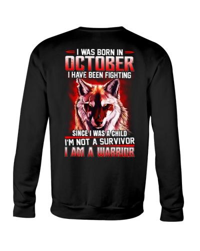 October  Guy Has Been Fighting