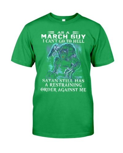 As A March Guy Can't Go To The Hell