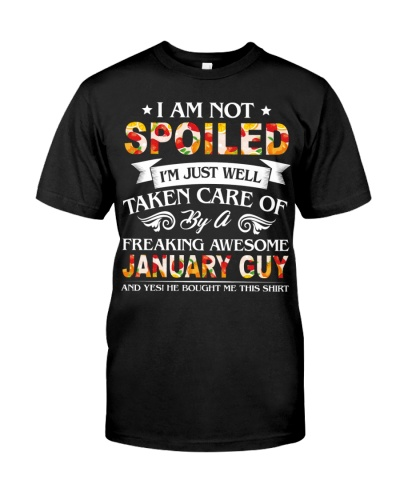 I'm Taken Care Of By A January Guy