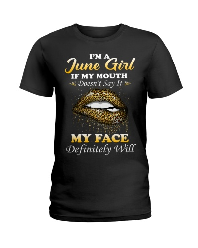 I'm A June Girl If My Mouth Doesn't Say It