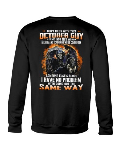 October Guy Came Into This World