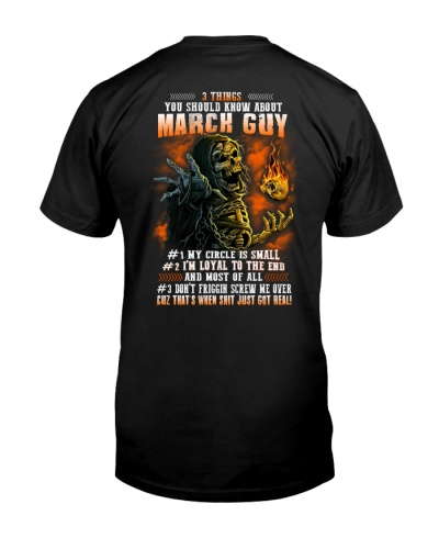 3 Things You Should Know About March Guy