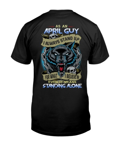 April Guy Always Stand Up