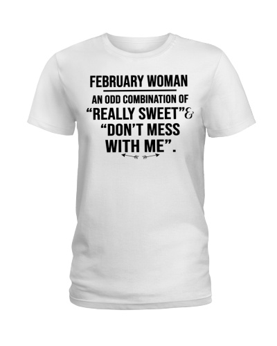 February Woman Really Sweet