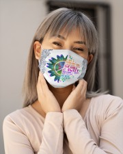 February Girl I Have Three Sides Cloth face mask aos-face-mask-lifestyle-17
