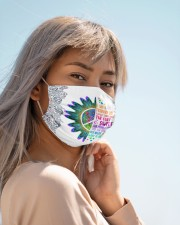 February Girl I Have Three Sides Cloth face mask aos-face-mask-lifestyle-19
