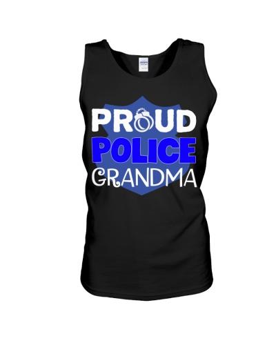 Proud Police Grandma