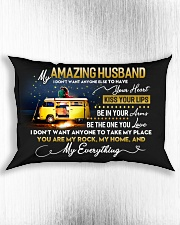 Camping Husband Don't Want Any One Else Rectangular Pillowcase aos-pillow-rectangle-front-lifestyle-4