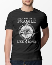 Wolf Wife Fragile Like Bomb Classic T-Shirt lifestyle-mens-crewneck-front-13