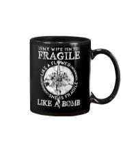 Wolf Wife Fragile Like Bomb Mug thumbnail