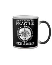 Wolf Wife Fragile Like Bomb Color Changing Mug thumbnail