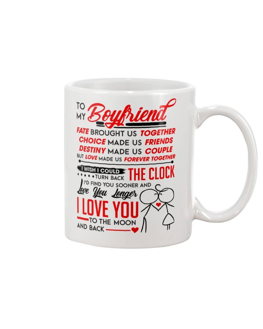 Family Boyfriend Destiny Clock Moon Mug