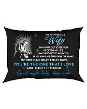 Welder Wife Good Night Sleep Tight Rectangular Pillowcase back
