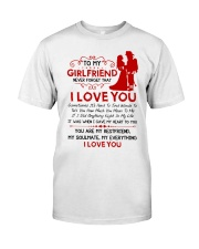 Firefighter Girlfriend I Gave My Heart To You Classic T-Shirt thumbnail