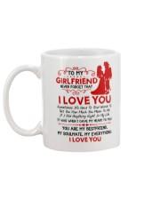 Firefighter Girlfriend I Gave My Heart To You Mug back