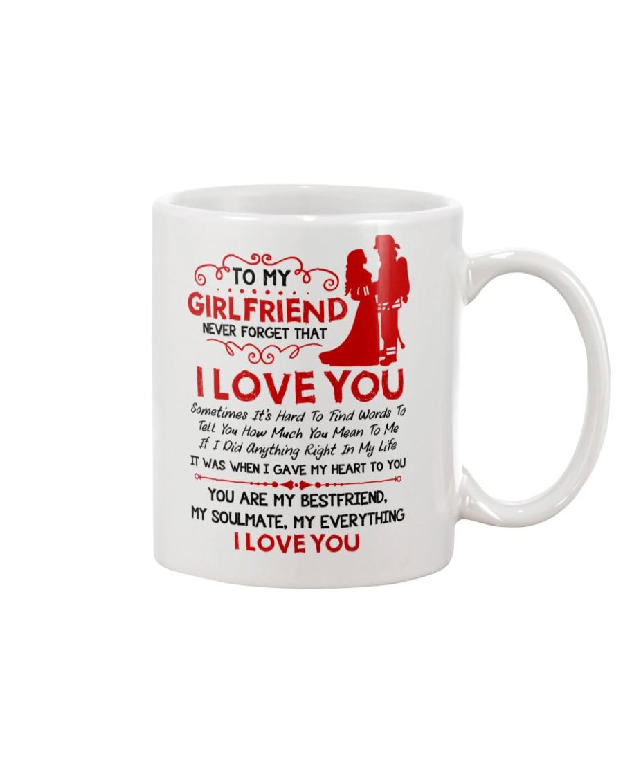 Firefighter Girlfriend I Gave My Heart To You Mug