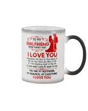 Firefighter Girlfriend I Gave My Heart To You Color Changing Mug thumbnail