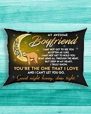 Sloth Boyfriend Good Night Baby Sleep Tight Rectangular Pillowcase aos-pillow-rectangle-front-lifestyle-5