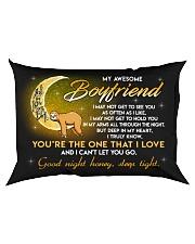 Sloth Boyfriend Good Night Baby Sleep Tight Rectangular Pillowcase back