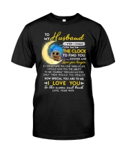 Owl Husband Clock Ability Moon Classic T-Shirt thumbnail