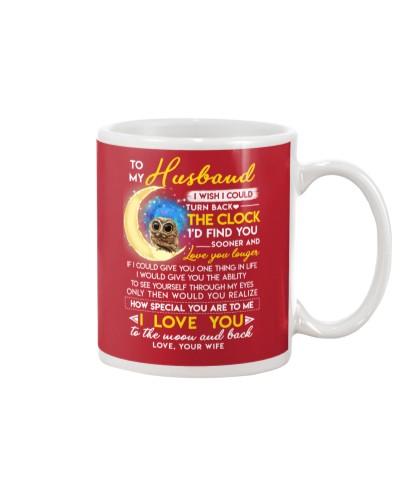 Owl Husband Clock Ability Moon