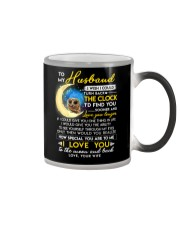Owl Husband Clock Ability Moon Color Changing Mug thumbnail