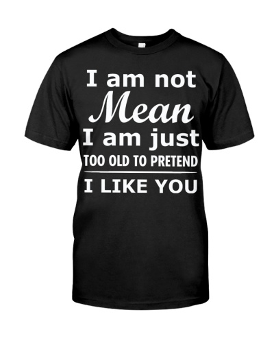 Pretend I Like You Shirt CC