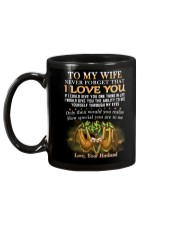 Never Forget That I Love You Sloth Wife Mug back