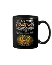 Never Forget That I Love You Sloth Wife Mug front