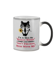 I'm A Mix Of Really Sweet Wolf  Color Changing Mug thumbnail