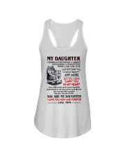 Wolf Daughter Mom I Closed My Eyes Ladies Flowy Tank thumbnail
