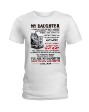 Wolf Daughter Mom I Closed My Eyes Ladies T-Shirt tile