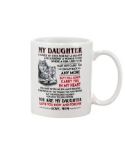 Wolf Daughter Mom I Closed My Eyes Mug front
