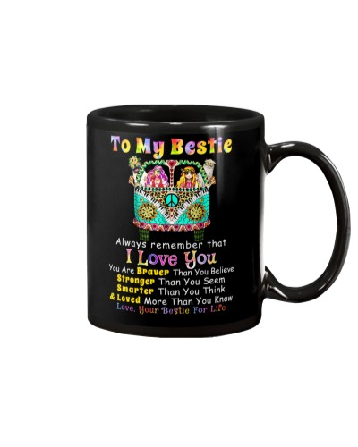 Hippie Bestie I Love You